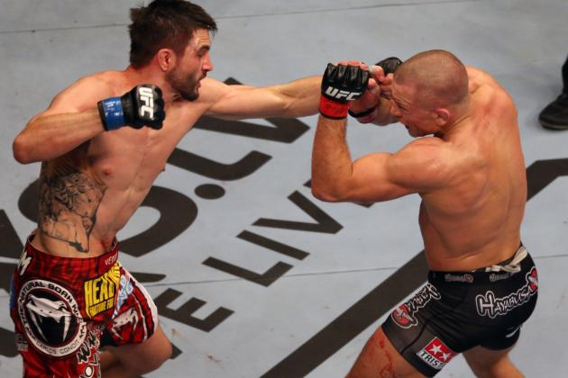 UFC 154 Results: GSP Says Matt Serra Loss Helped Him Survive Condit Head Kick