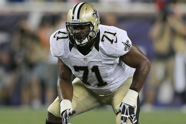 New Orleans Saints Tackle Charles Brown Injures Knee in Win Over Raiders