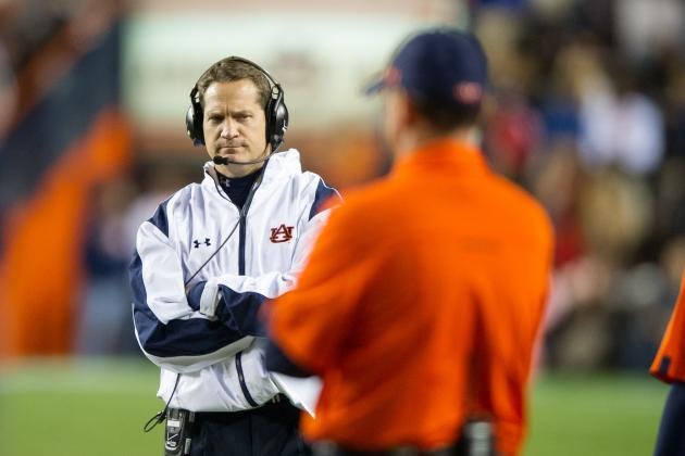 Auburn's Gene Chizik Has Plenty of Praise for Alabama