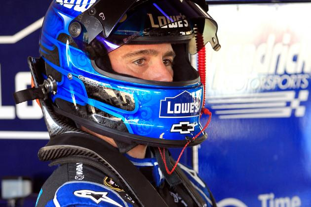 Jimmie Johnson's Quest for Sprint Cup Title No. 6 Goes Up in Smoke