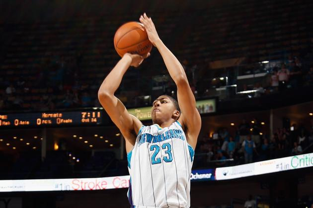 New Orleans Hornets' Anthony Davis Still Leads NBA Rookie of the Year Race