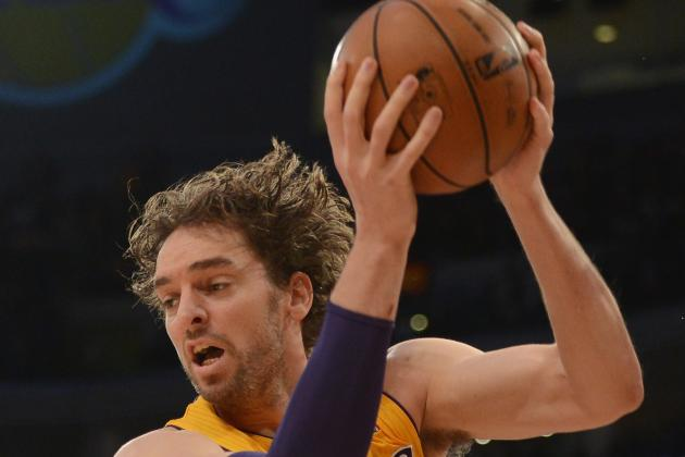 Pau Gasol Reaches 15,000 Career Points