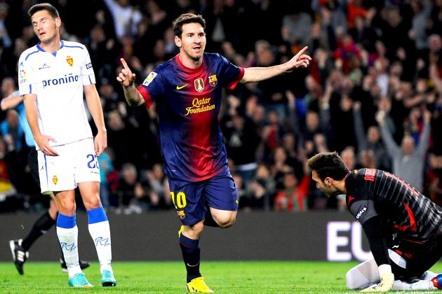 Messi and Ronaldo Watch: Messi Double Lifts Barca as Real Rout Athletic Bilbao