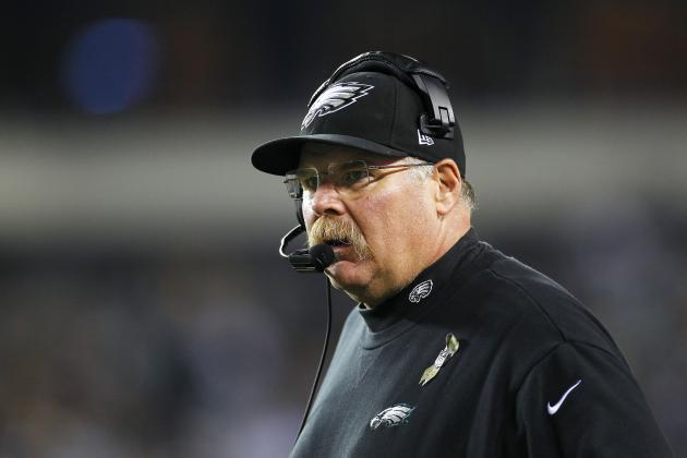 Andy Reid: Eagles Are Letting the Fans Down, but I'll Never Quit