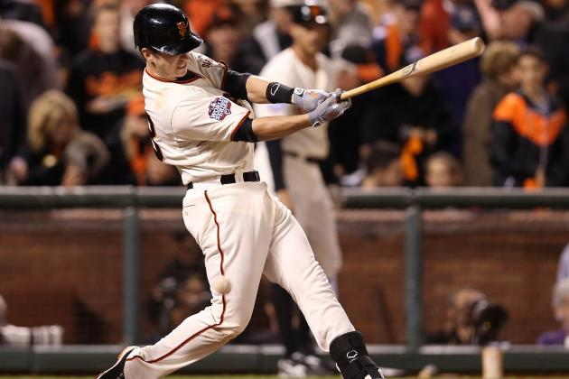 Buster Posey Looks Good, and It's Early