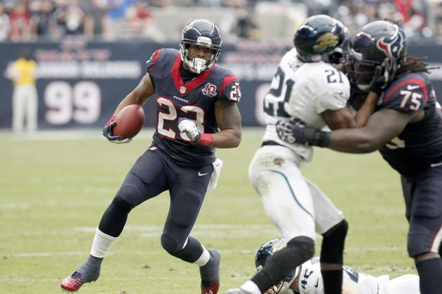 2012 Fantasy Football Running Back Rankings: NFL Week 12