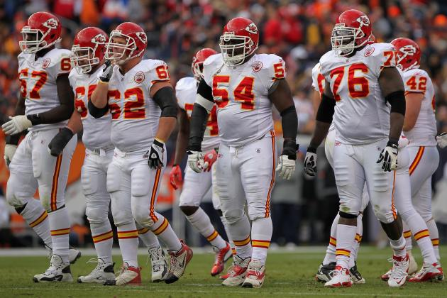 Chiefs Try to Patch Together Makeshift Offensive Line