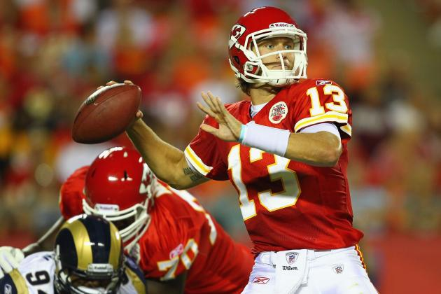 How Bad Must Chiefs QB Ricky Stanzi Be?