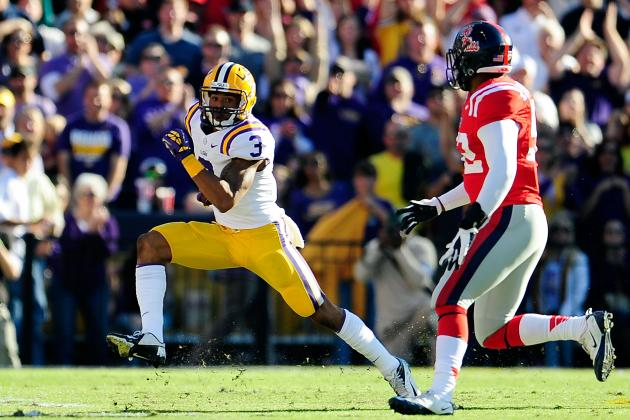 Odell Beckham Jr. Wins SEC Special Teams Player of the Week Honor