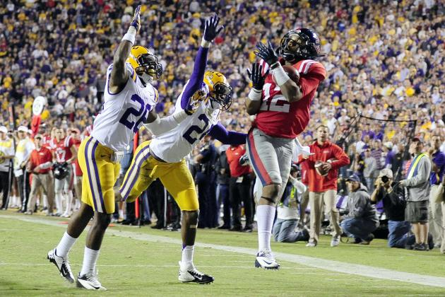 LSU Tigers Giving Up Yards, but Taking Away the Football