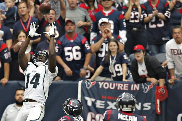 Breakout Game for Jaguars WR Justin Blackmon