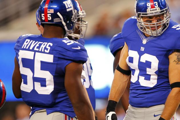 Giants' Keith Rivers Held out After Bye-Week Car Accident