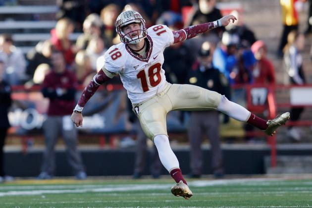 Florida State Kicker Dustin Hopkins Sets NCAA Scoring Record