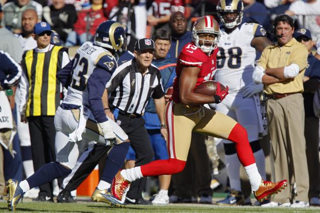 Bears vs 49ers: Michael Crabtree Is Key to San Francisco Win at Home