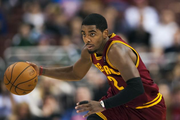 Cavs' Kyrie Irving Positioning Himself as Marketing Superstar, Too