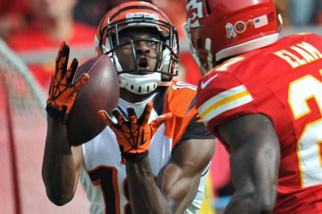 A.J. Green Sets Bengals' Team Record with Touchdown Streak