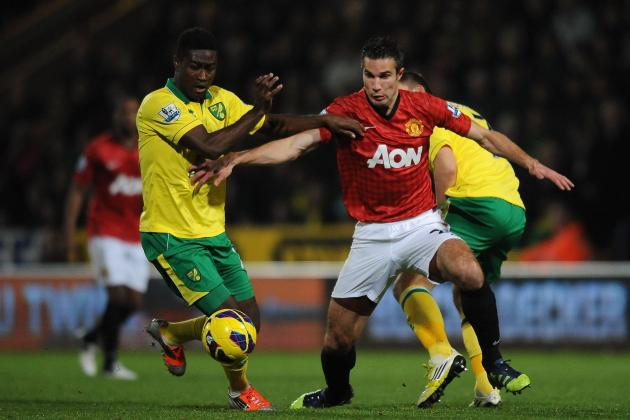 Manchester United's Midfield Comes Up Short Against Norwich City's Mass Defence