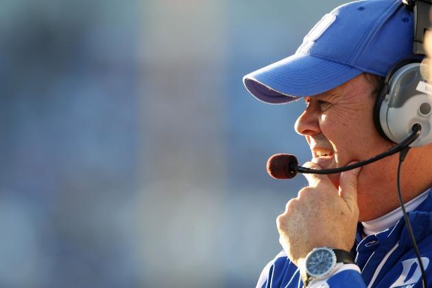 Cutcliffe: 'I'm Going to Be Coaching at Duke Next Year'
