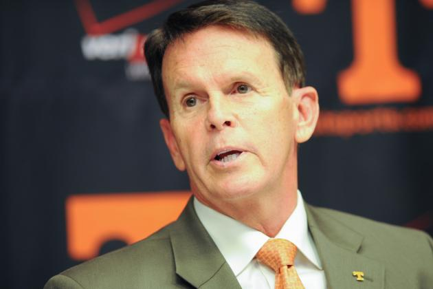 Recruiting Process Drives Vols' Coaching Search