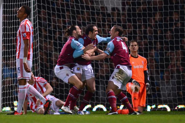 Landmark O'Brien Goal Earns West Ham Draw with Stoke