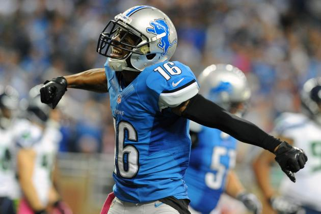 Titus Young Won't Play vs. Texans Due to Behavioral Issues