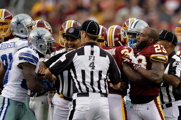 Redskins vs Cowboys: Thanksgiving Day Game Called 'Top Rivalry of All Time'