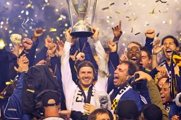 David Beckham to Play His Final Game for the LA Galaxy in MLS Cup 2012