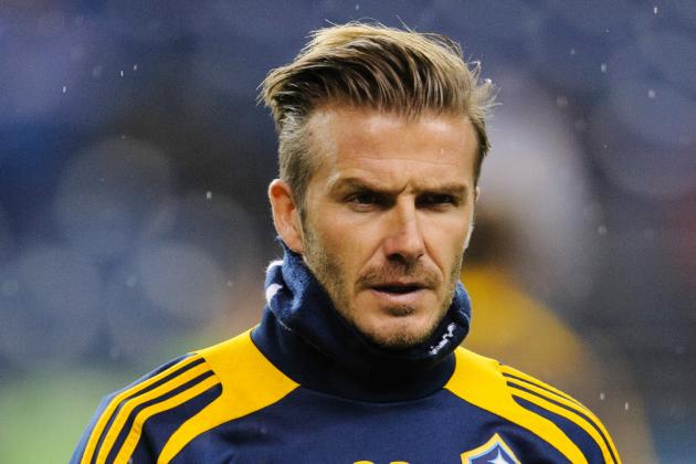 David Beckham Will Play His Final Game with LA Galaxy in 2012 MLS Cup