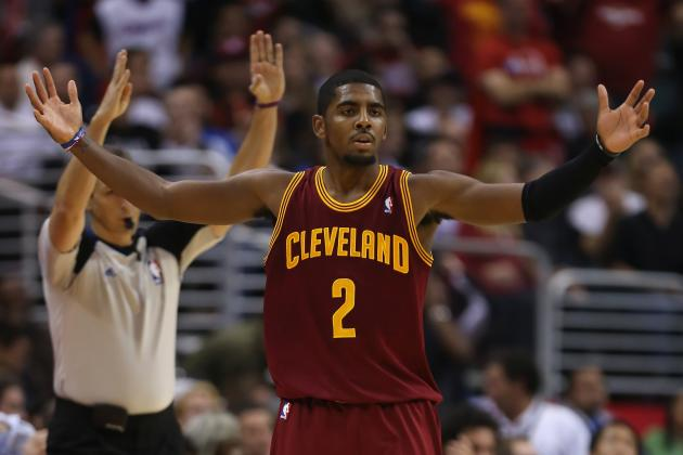Cleveland Cavaliers: Kyrie Irving to Miss 4 Weeks with a Broken Finger