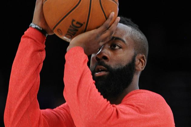 Harden to Play Despite Flu-Like Symptoms