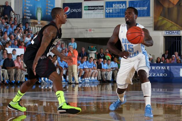 UNC Spreads out Offense for Easy Win in Maui
