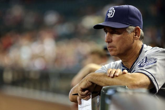 Black Extended as Padre Manager Through 2015