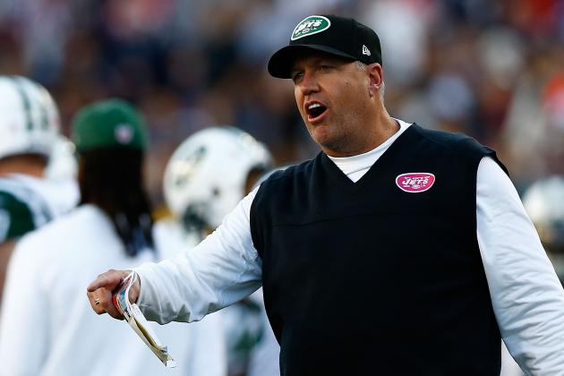 Updated Hot Seat Watch for Rex Ryan After Jets' Win over Rams