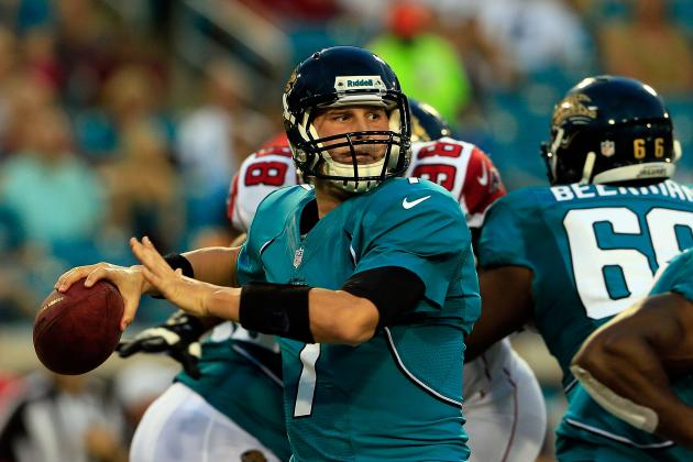 Chad Henne: What His Start on Sunday Means to the Jacksonville Jaguars
