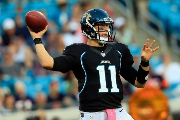 Is Blaine Gabbert All That Has Been Wrong with Jaguars' Offense?