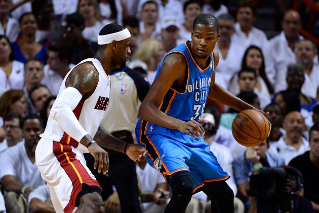 Is Kevin Durant the Only Player Who's 'Next in Line' Behind LeBron James?