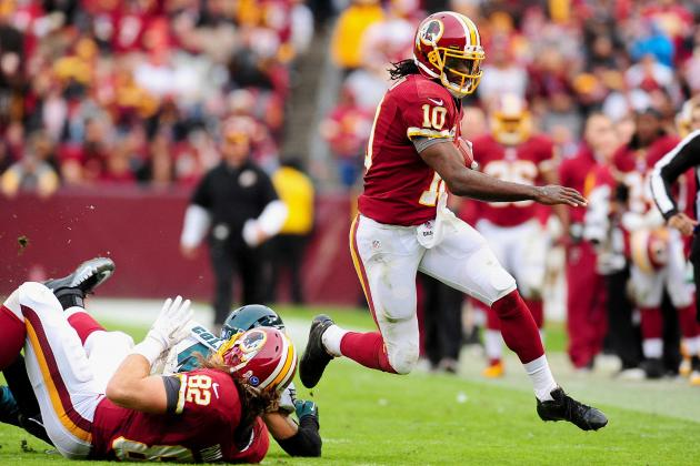 Move over Andrew Luck, RG3 Regains the Lead in Rookie of the Year Race