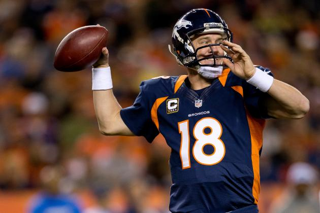Peyton Manning an Early MVP Favorite, but Don't Call Him a Lock Just Yet