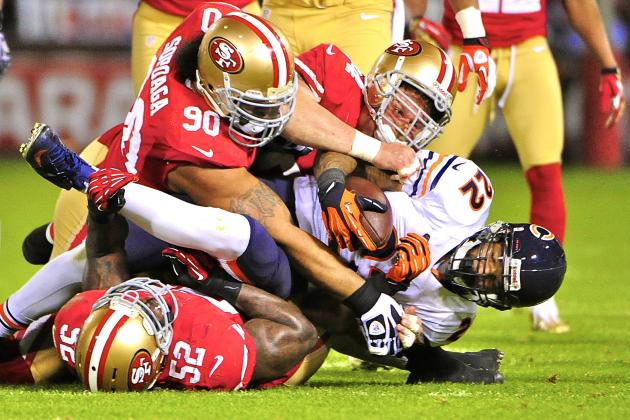 Colin Kaepernick Shines in Battle of the Backup QBs as 49ers Destroy Bears, 32-7
