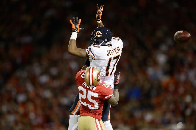 Bears Rookie WR Alshon Jeffery Looking Like a Bust with Chronic Injury Problems