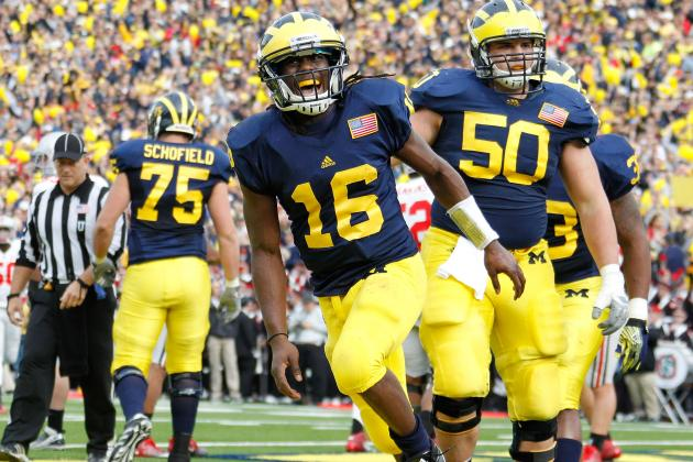 Michigan vs. Ohio State: Will Denard Light the Buckeyes Up Again This Year?