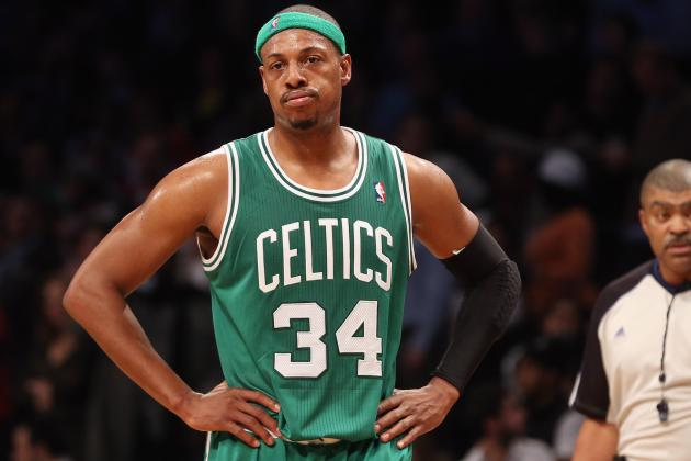 Boston Celtics Paul Pierce Doesn't Expect Trouble from Injured Ankle