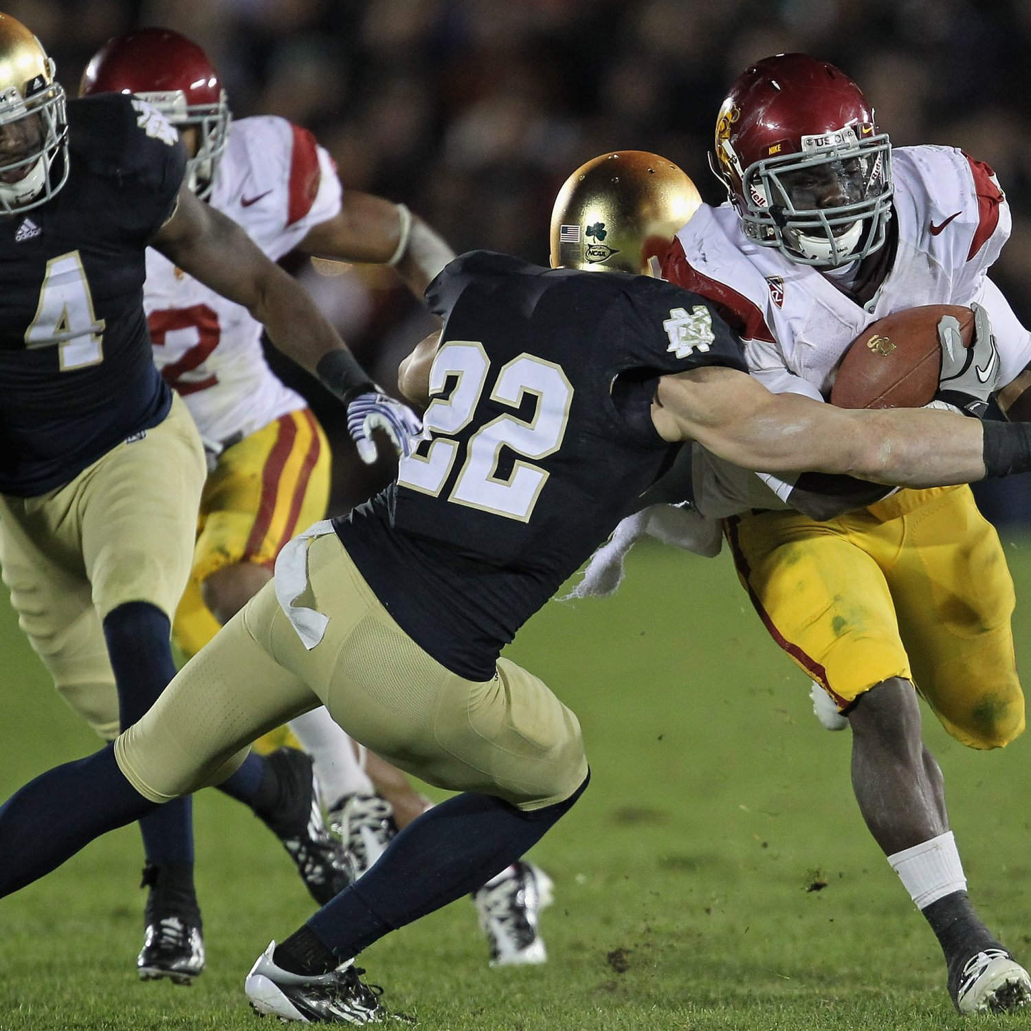 The Biggest Non Local Football Rivalries Including: Notre Dame Vs. USC: TV Schedule, Live Stream, Radio, Game