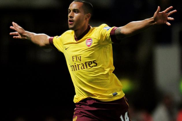 Walcott out of Arsenal's Champions League Clash Against Montpellier