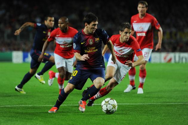 Spartak Moscow vs. Barcelona: Live Stream Info for Champions League Clash