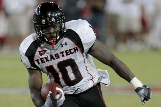 Rushing Woes Catching Up to Texas Tech