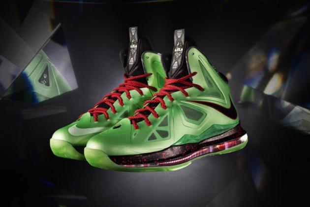 Breaking Down New Nike LeBron 10 'Jade' Shoes