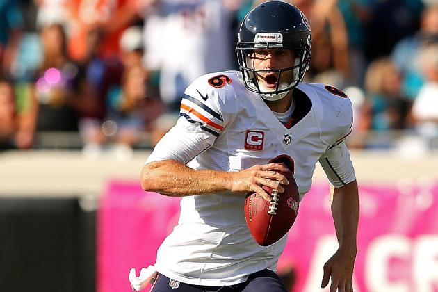 Jay Cutler 'Looking Good' to Play for Bears on Sunday