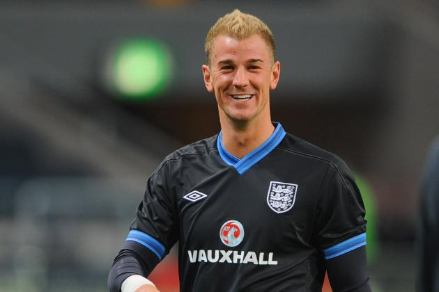 Joe Hart Has Been Named One of the World's Best Goalkeepers