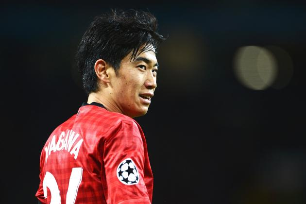 Manchester United News: Shinji Kagawa Out for Another Month with Knee Injury